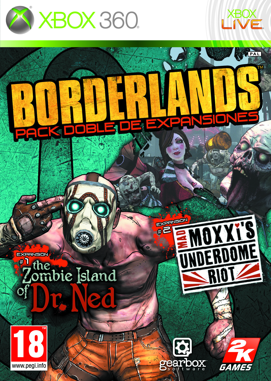 BORDERLANDS DLC 1-2 360 FOB SPA