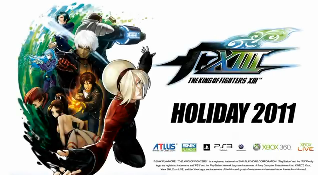 The King of Fighters XIII PS3 Xbox 360